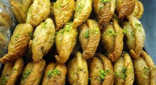 Food served during Street food tasting walks in Agra
