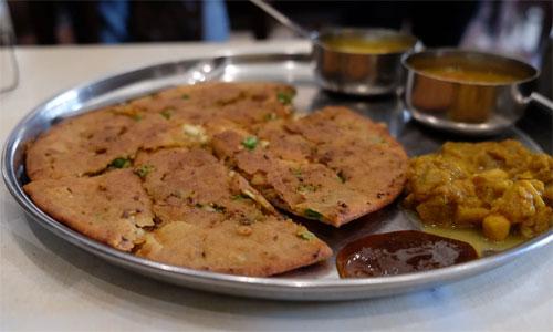 Food served during Food tasting walks in India